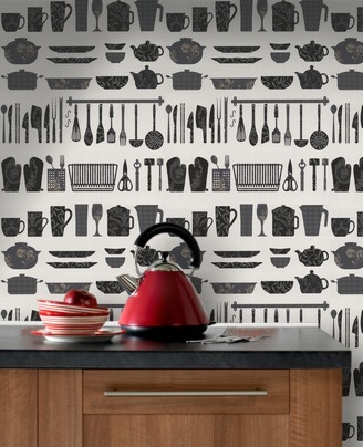 Kitchen Utensils Wallpaper utensil wallpaper?   localtraders