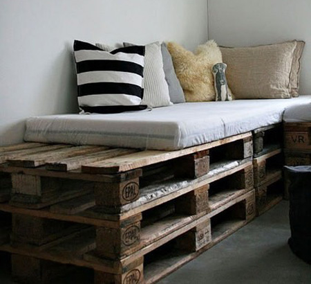 Charming For Most Of Us Extra Money To Overhaul Your Decor Is Scarce, So Why Not Get  Creative And Make Your Own Furniture? Recycled Pallets Can Make Practical  And ...