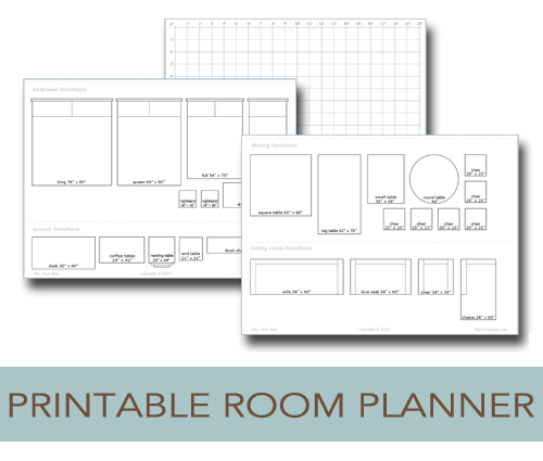 get your room planning in order
