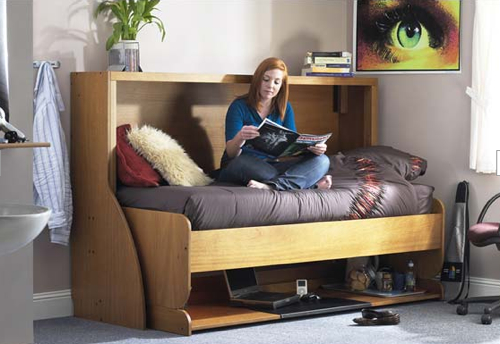This Multi Functional Furnishing Is Great For Apartments That Aren T On E The Studybed Converts From A Desk To Bed Compact Living Solution